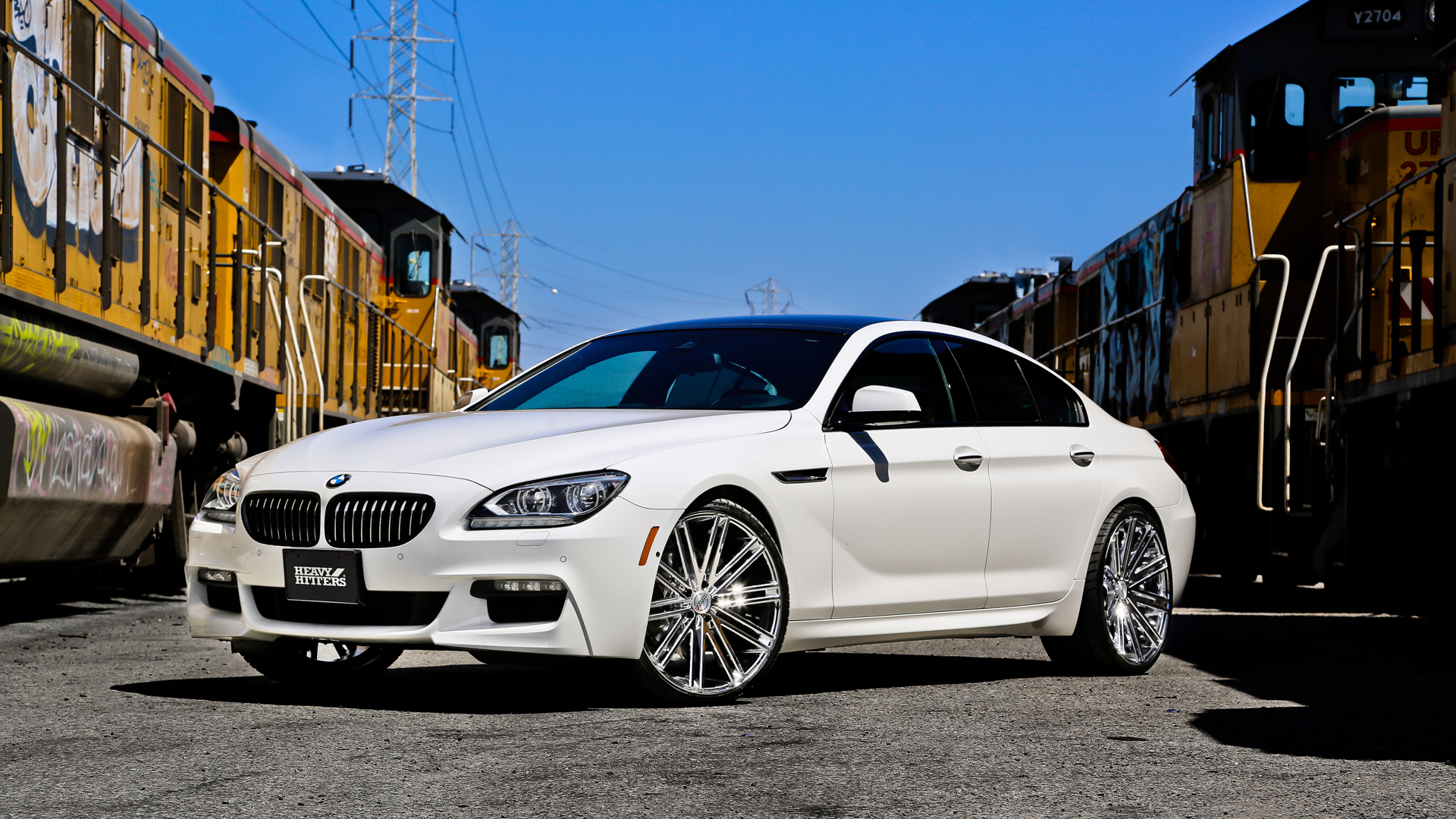 2014 Bmw 640i Gran Coupe Hh11 Heavy Hitter Wheels