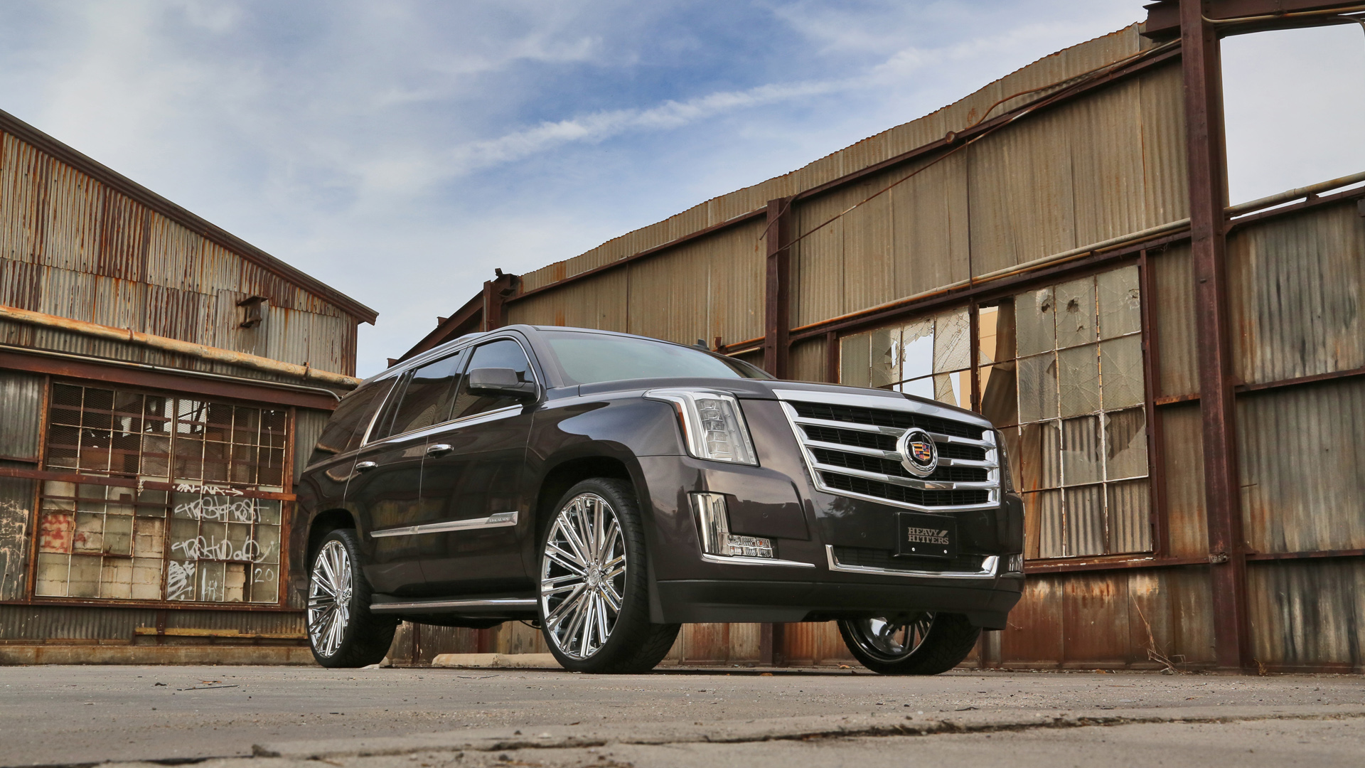 2015 Cadillac Escalade Hh12 Heavy Hitter Wheels