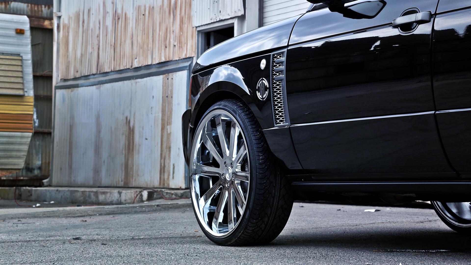 2011 Land Rover Range Rover Hh10 Heavy Hitter Wheels