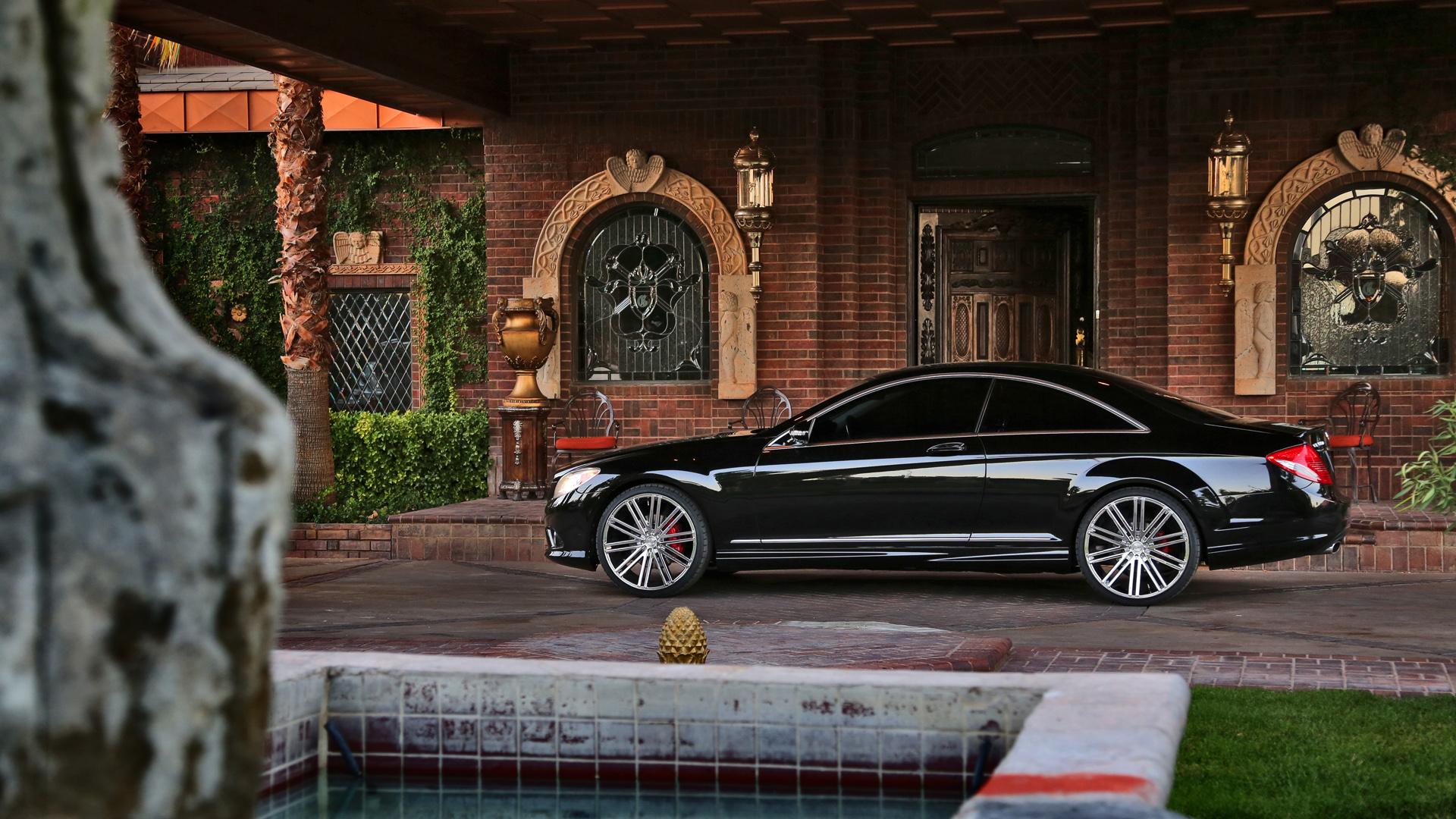 2010 Mercedes Benz Cl550 Hh11 Heavy Hitter Wheels