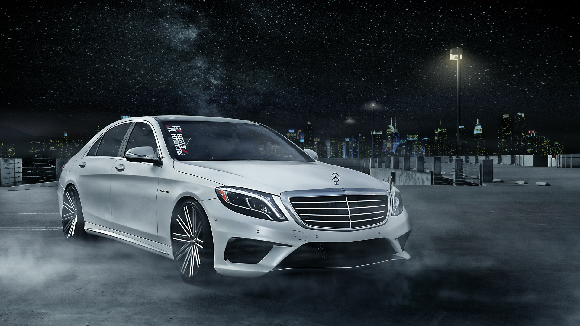 2015 Mbenz S63 Amg Sedan Hh11 Heavy Hitter Wheels